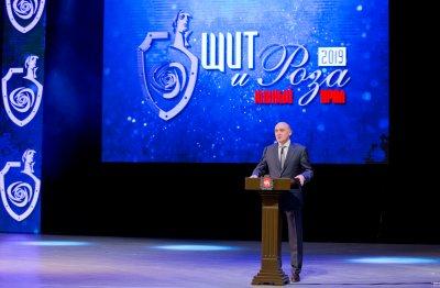 Борис Дубровский поздравил победительниц региональной премии «Щит и роза»