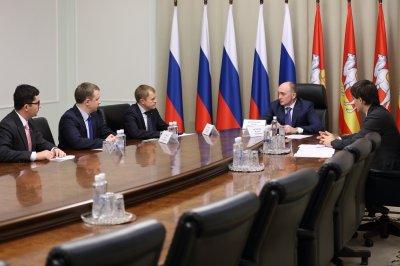 Борис Дубровский обсудил с Александром Калининым совершенствование системы поддержки бизнеса в регионе