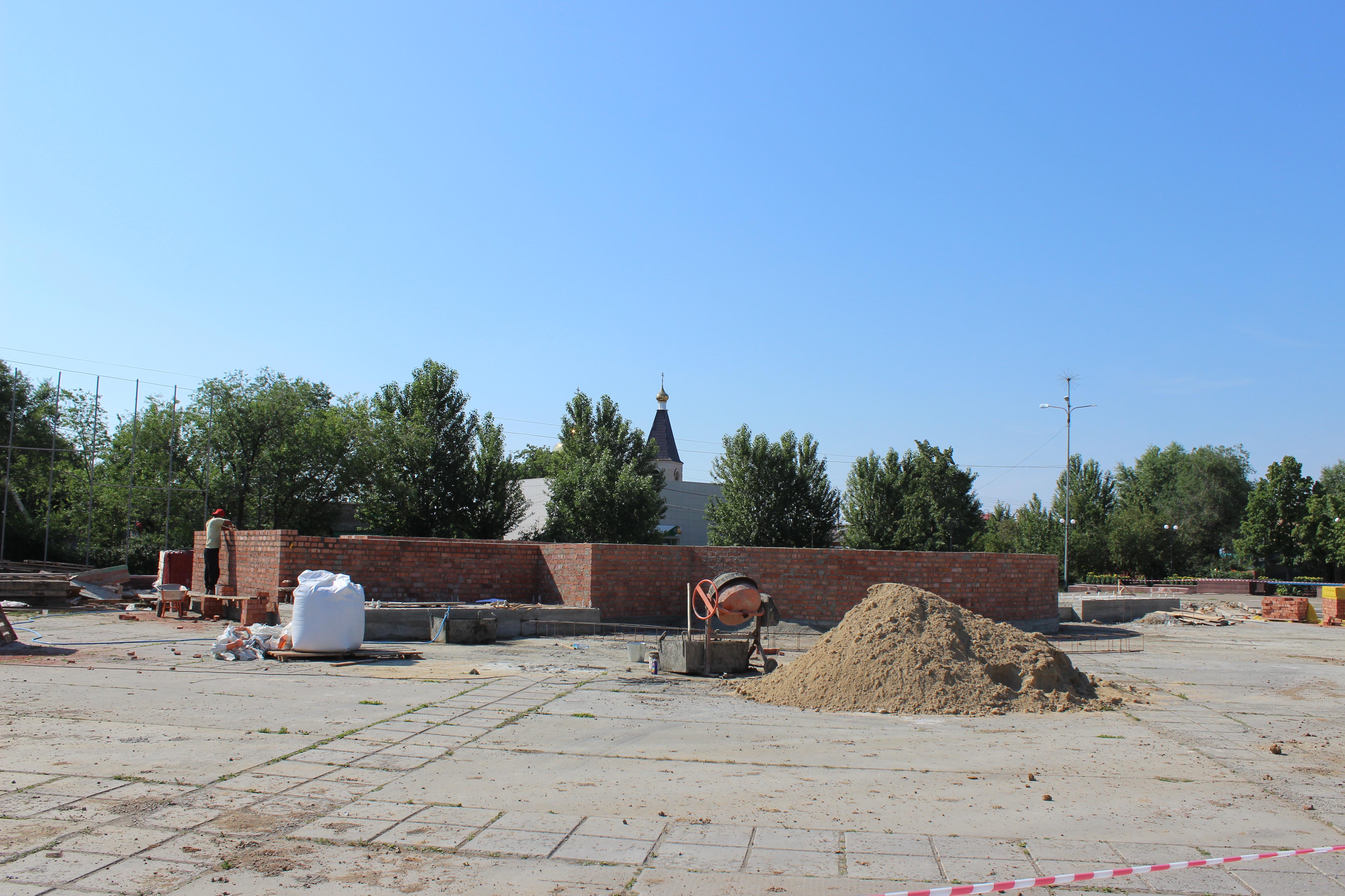 В Увелке строится новая главная сцена
