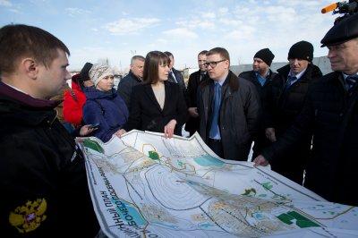 Алексей Текслер посетил проблемные экологические объекты вблизи Челябинска