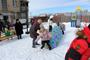 Фестиваль «Выходи гулять!» собрал увельскую детвору во дворах, благоустроенных по проекту «Городская среда»