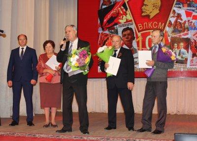 Увельчане отметили 100-летие со дня образования ВЛКСМ